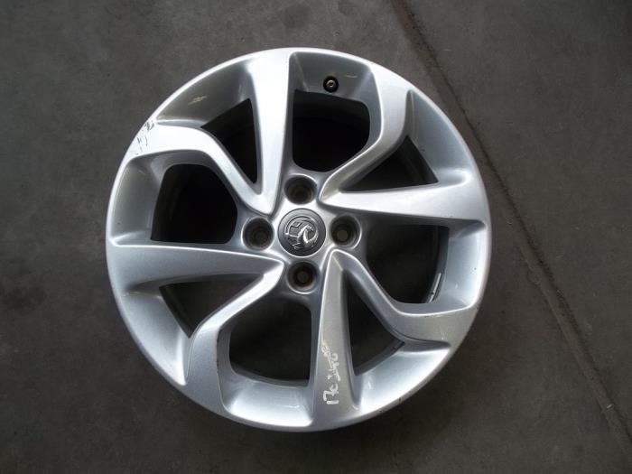 Used Opel Corsa Wheel 13380635 Alloy Automaterialen