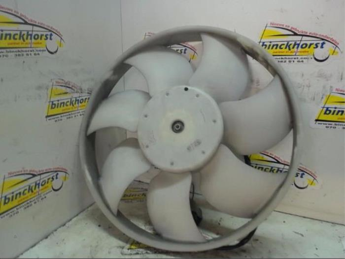 Cooling fans from a Peugeot 107 1.0 12V 2007