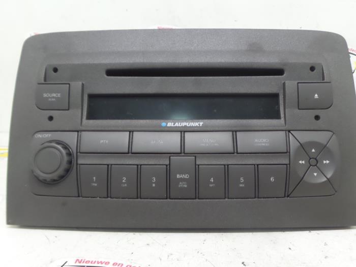 Stereo Autoradio CD Mp3 Fiat Idea 2007 7355186860 7648591316
