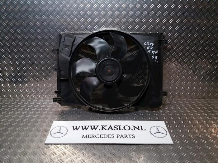 Used Mercedes C (W204) 1 8 C-180K 16V Radiator fan - A2045000193