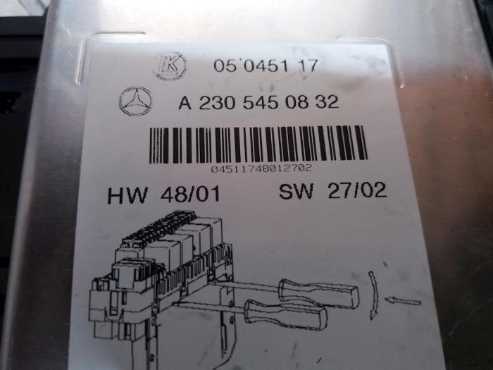 Mercede 280sl Fuse Box Diagram