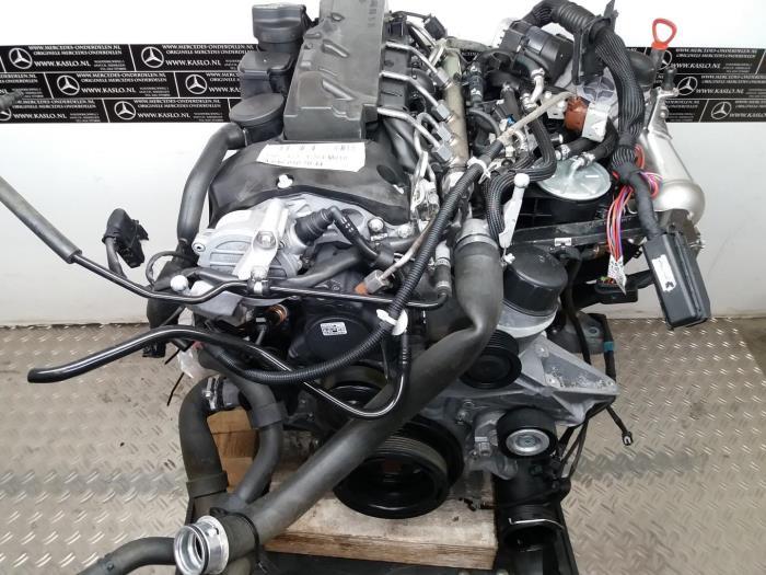 Used Mercedes C (W204) 2 2 C-220 CDI 16V Engine - 646811 - kaslo