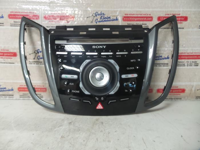 used ford c max radio control panel am5t18k811 gebr. Black Bedroom Furniture Sets. Home Design Ideas
