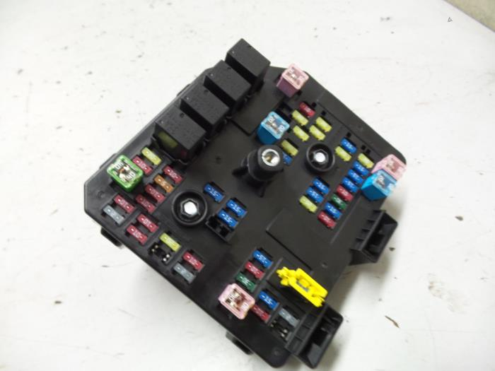 fuse box from a opel antara 2015