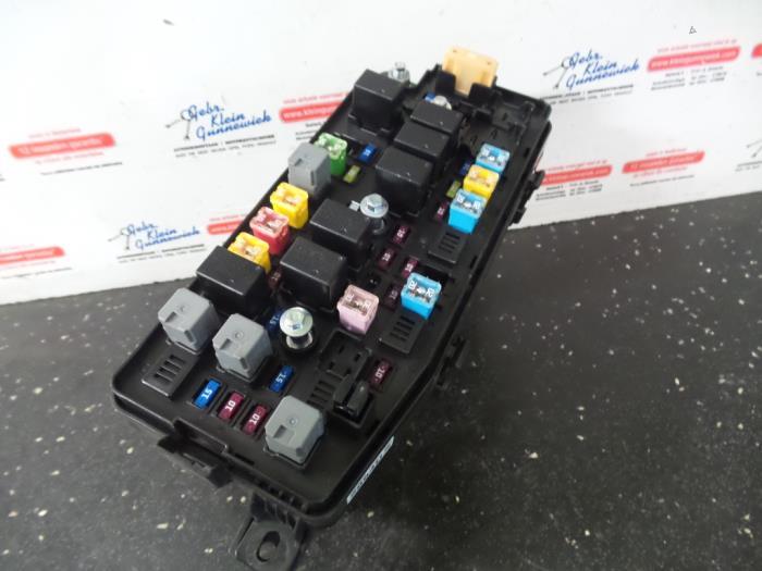 fuse box from a opel antara 2012