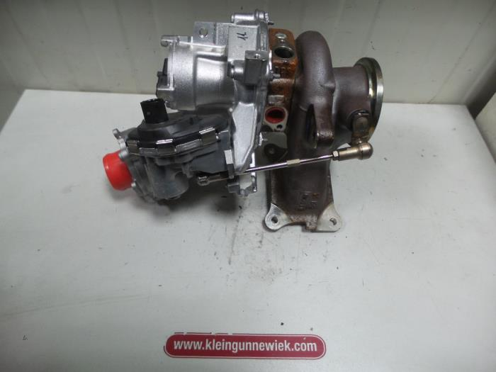 Turbo from a Volkswagen Tiguan 2016