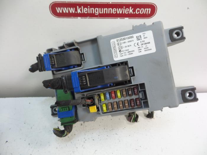 used peugeot bipper (aa) 1 4 hdi fuse box 01353010080 gebr klein Timing Cover Location