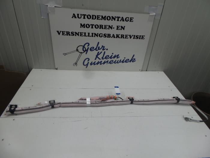 used opel adam roof curtain airbag, left - 13350705 - gebr.klein