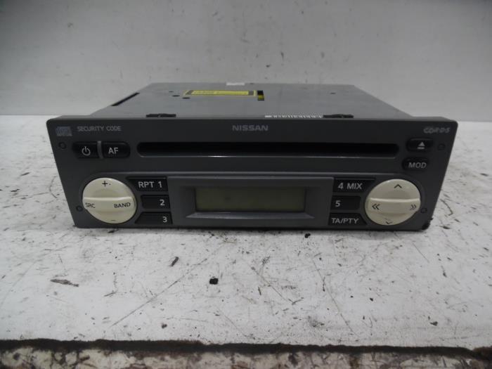 Used Nissan Micra K12 1 2 16v Radio Cd Player 7642346318