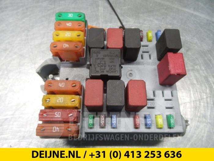 Citroen Jumper Fuse Box : Used citroen jumper fuse box van deijne