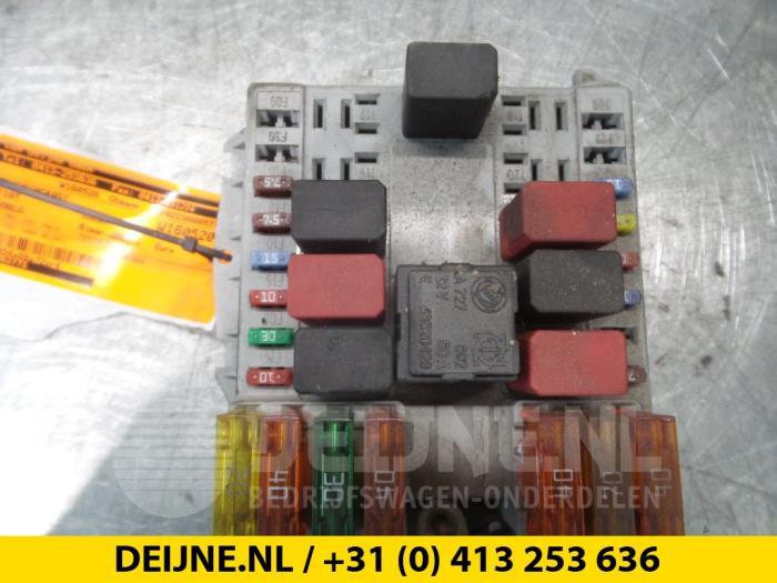 fiat doblo van fuse box used fiat doblo cargo (223) 1.3 d 16v multijet fuse box ... fiat punto 1999 fuse box