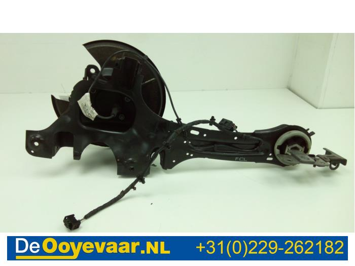 Knuckle, rear left from a Ford S-Max (GBW) 2.0 TDCi 16V 140 2015