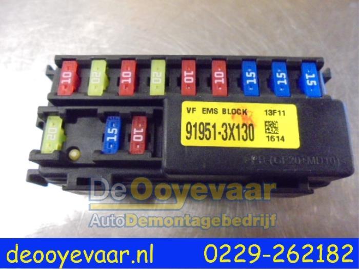 used kia cee d sportswagon jdc5 1 6 gdi 16v fuse box fuse box from a kia cee d sportswagon jdc5 1 6 gdi 16v 2013