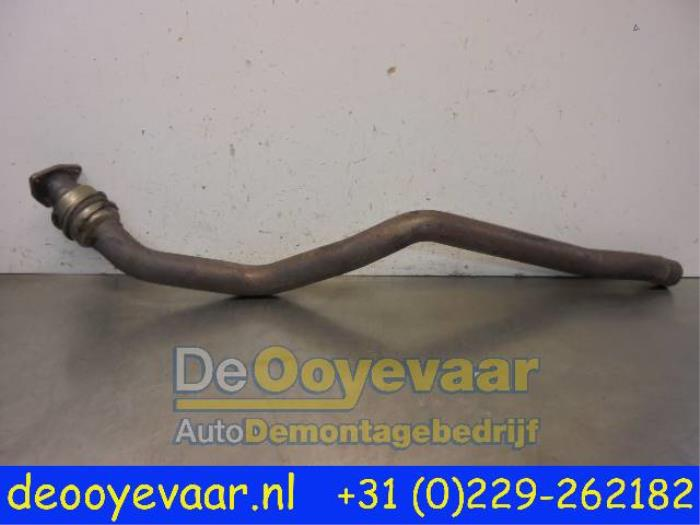 Exhaust Front Section From A Audi A4 20 TDI 16V 2013