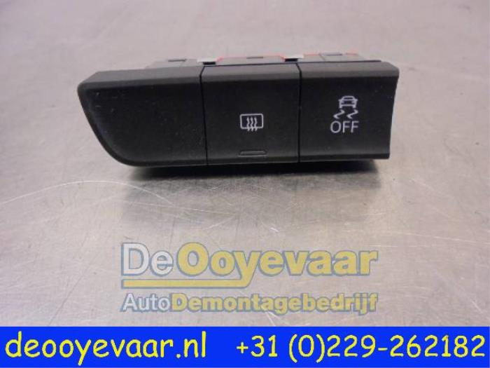 Used Audi A1 (8X1/XW) 1 2 TFSI ASR switch - 8X0959673 - De