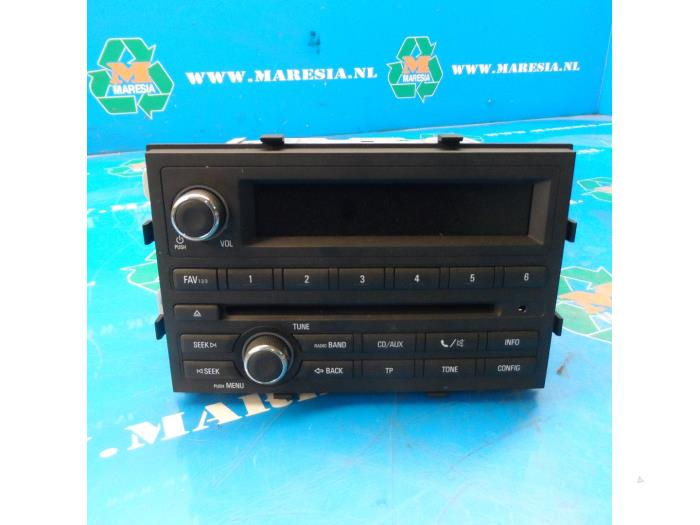Used Chevrolet Aveo 12 16v Radio Cd Player 95494095 Maresia