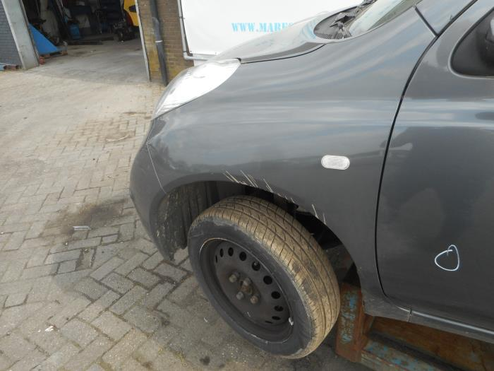 Nissan Garage Waalwijk : Used nissan micra front wing left color code ky maresia auto