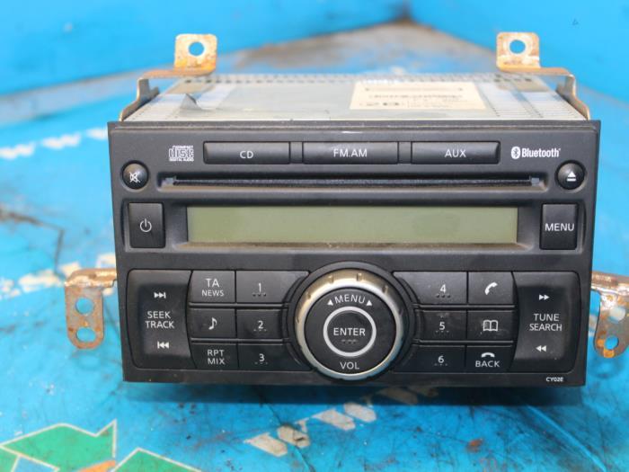 gebrauchte nissan note (e11) 1.4 16v radio cd spieler - 281859u10a