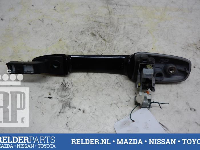 Used Mazda 5 (CR19) 1.8i 16V Rear door handle 4-door, right - RELDER ...