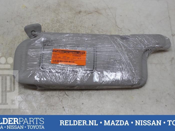Used Toyota Corolla Verso (E12) 1.8 16V VVT-i Sun visor - RELDER ... c33b4c3091b