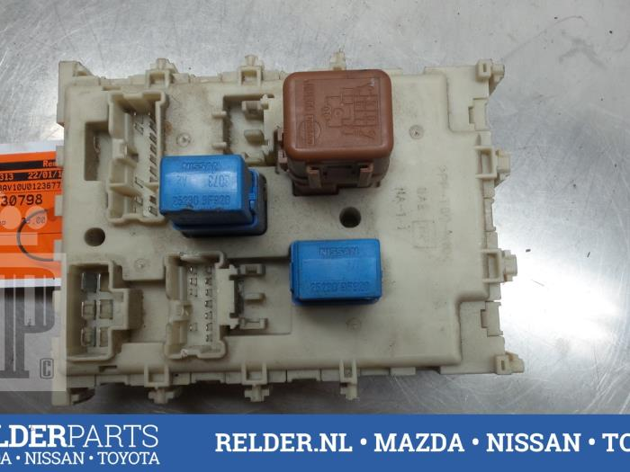 Fuse box nissan almera  wiring diagram images