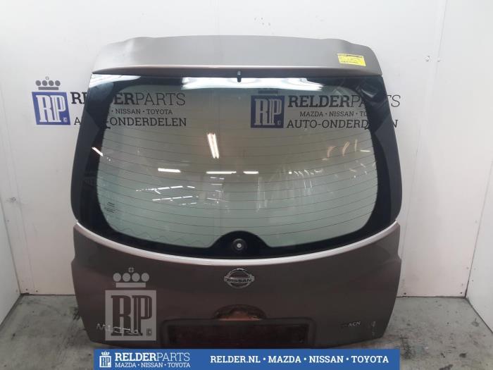 Used Nissan Micra (K12) 1 2 16V Tailgate color code C30