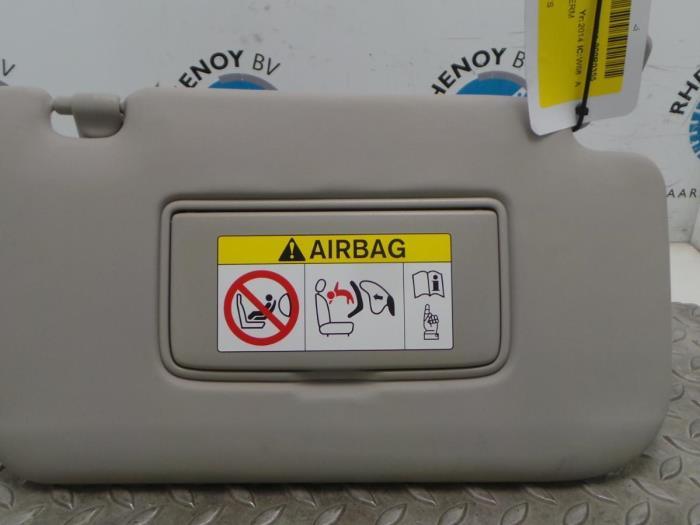 Used Nissan X-Trail Sun visor - Rhenoy Onderdelen b.v.  2665437ced5