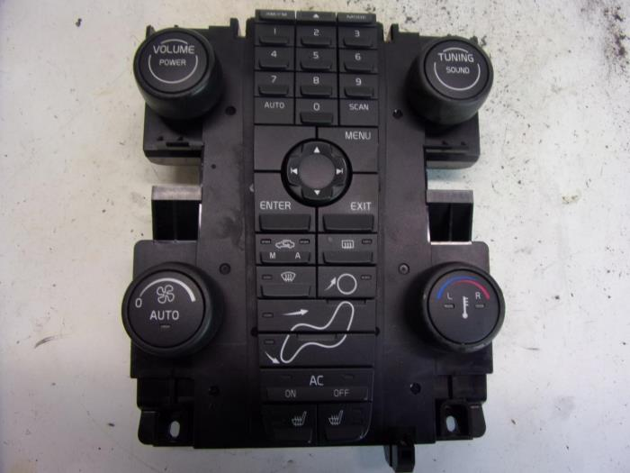 VOLVO S40|V50|C30 2007 CLIMATE CONTROL UNIT WITH  RADIO 30739249
