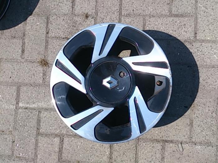 Used Renault Twingo Ii Cn 12 16v Wheel 8200449952 Alloy
