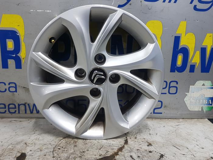 Used Citroen C3 Sc 16 Hdi 92 Wheel 9684311280 Alloy