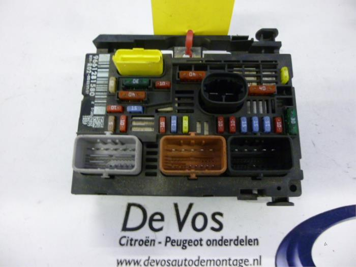 Peugeot 605 fuse box wiring diagrams schematics