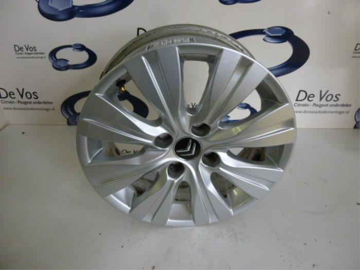 Used Citroen C3 Picasso Sh 16 Hdi 16v 90 Wheel 5402y2
