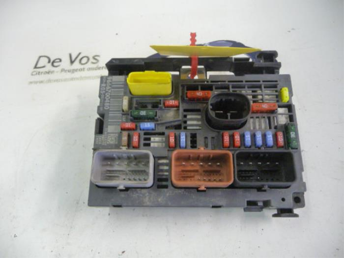 Used Citroen Berlingo Multispace 1 6i Fuse Box