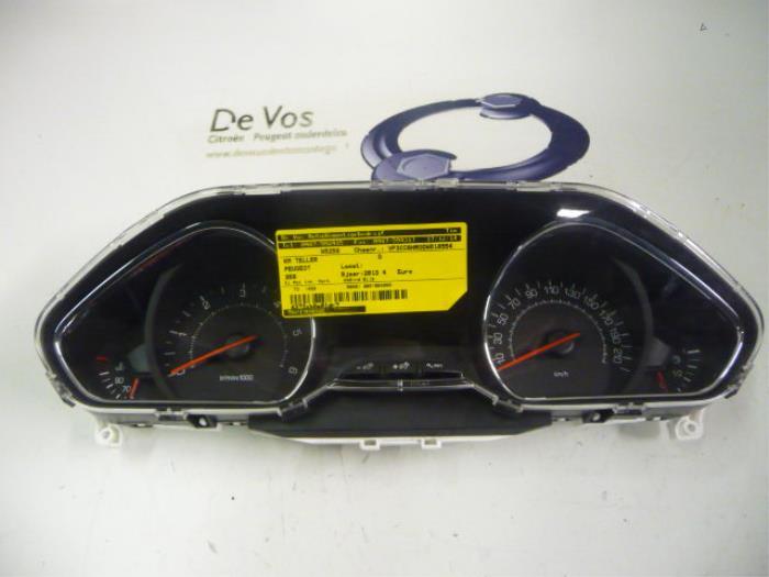 Usage Peugeot 208 Ca Cc Ck Cl 1 4 Hdi Compteur Kilometrique