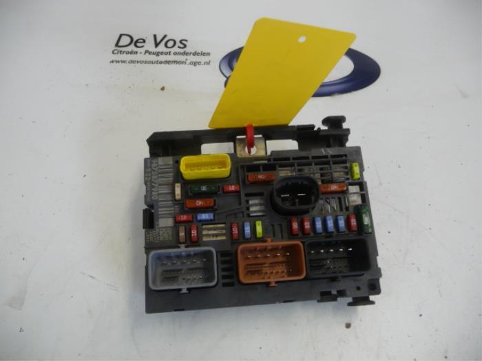 used citroen c5 iii tourer (rw) 1.6 16v thp 155 fuse box ... citroen c5 engine fuse box citroen picasso engine fuse box #4