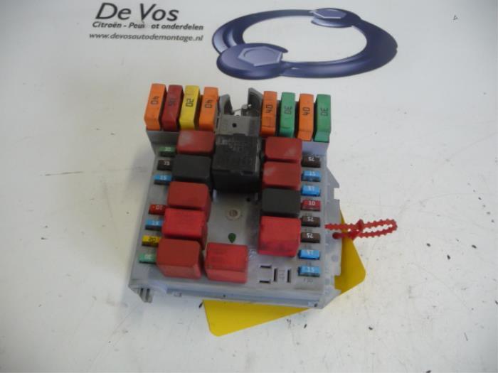 used peugeot boxer fuse box 1606939580 de vos rh proxyparts com Peugeot Boxer Interior Peugeot Boxer Interior
