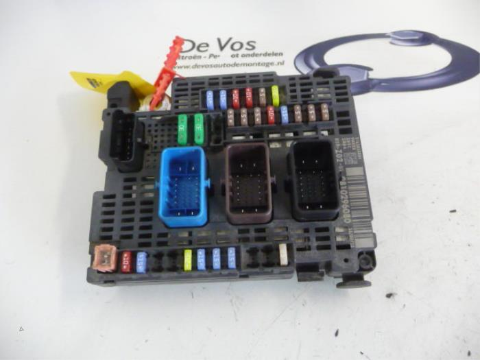 used citroen c4 fuse box 9810296080 de vos Citroen C4 Sedan 0