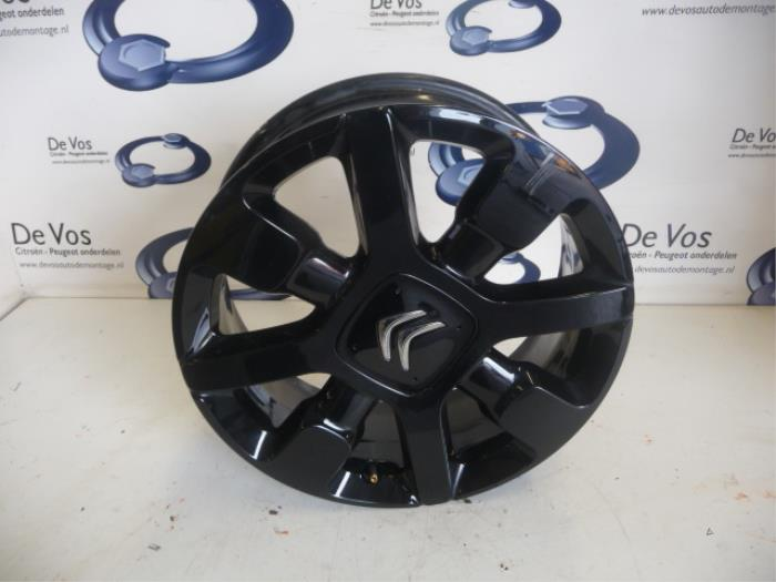Used Citroen C4 Cactus Wheel - 98004940xy Alloy