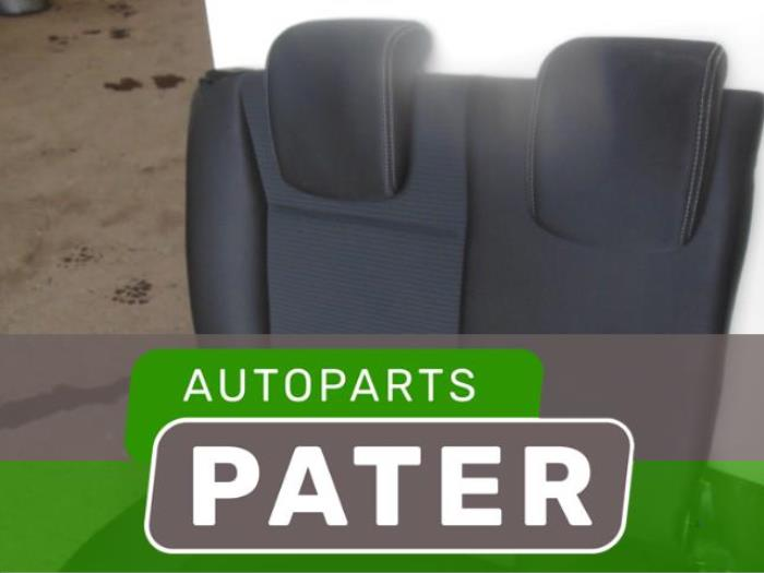 used renault clio iii br cr 1 5 dci fap rear bench seat autobedrijf j pater ede b v. Black Bedroom Furniture Sets. Home Design Ideas