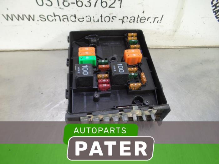 Fuse Box From A Volkswagen Caddy Iii 2ka2kh2ca2ch: Vw Caddy Fuse Box At Shintaries.co