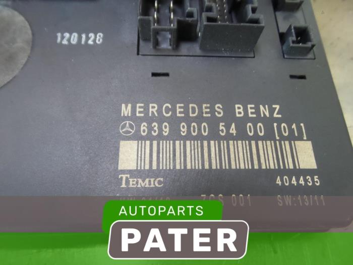 Used Mercedes Vito Fuse box - 6399005400 - Autobedrijf J Pater Ede