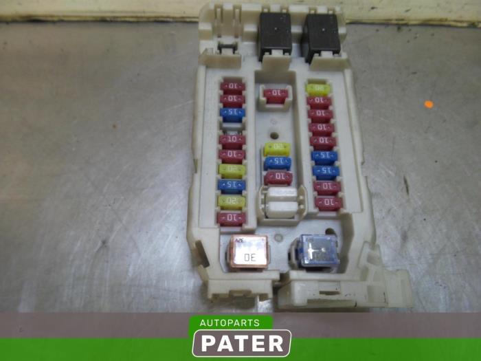 used isuzu d max 2 5 d fuse box 02548190 autobedrijf j pater ede Mazda Fuse Box