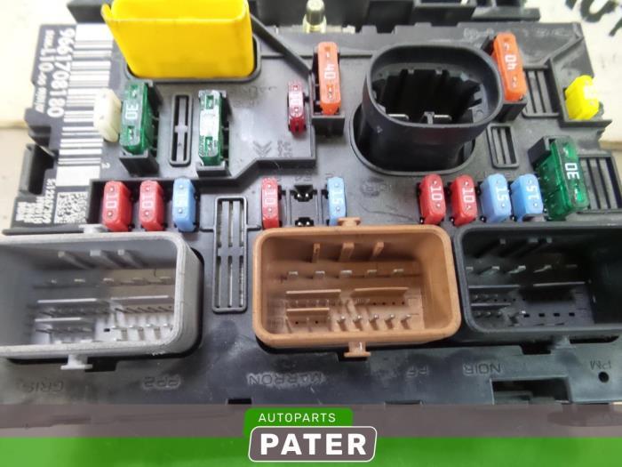 Used Peugeot 207 Fuse Box 9661708180 Autobedrijf J Pater Ede