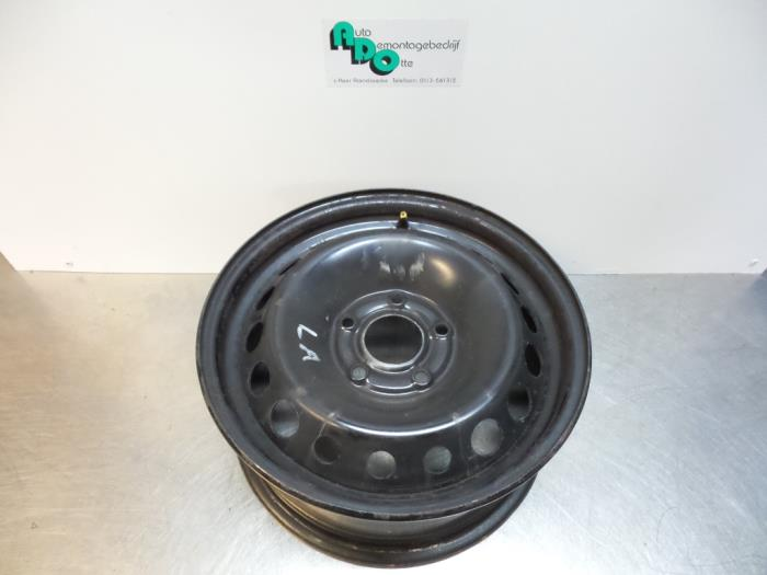 Used Renault Megane Set Of Wheels Steel