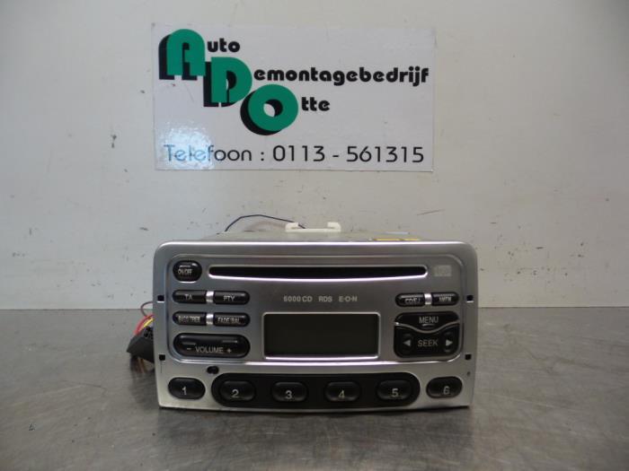 ignorancia télex Astronave  Used Ford Puma 1.7 16V Radio CD player - 97FP18C815DA -  Autodemontagebedrijf Otte | ProxyParts.com
