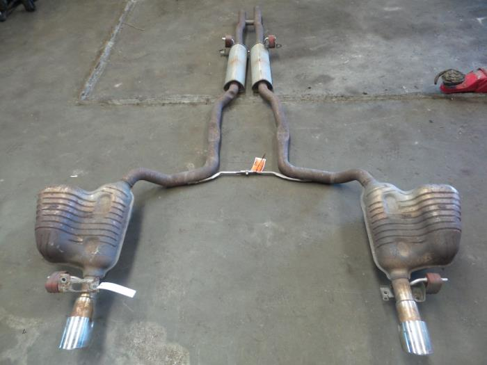 Exhaust Central Rear Silencer From A Audi A6 2006: 2006 Audi A6 Exhaust System At Woreks.co