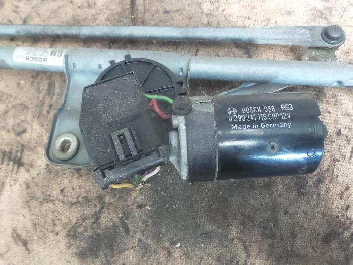 used opel vectra b (36) 1.6 16v ecotec front wiper motor - 039024116