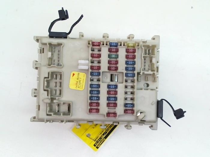 Used Nissan Almera Tino (V10M) 1.8 16V Fuse box - Japoto ... on