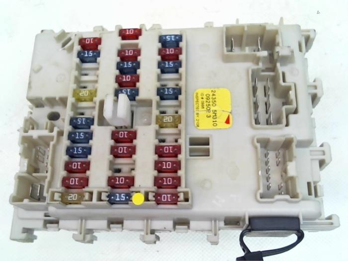 Used Nissan Almera (N16) 1.5 dCi Fuse box - 243505M310 ... on