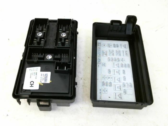Daewoo Matiz Fuse Box Layout - Wiring Schematics on